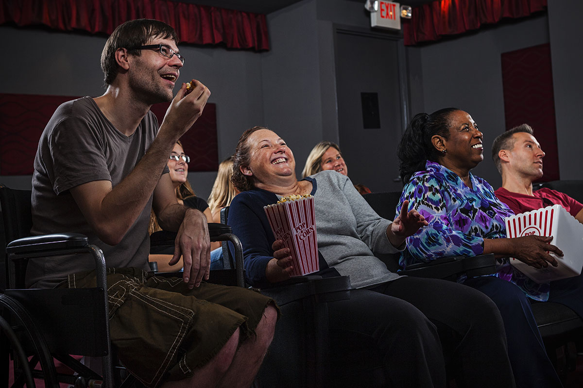 """Movies: No Longer """"The Stuff of Dreams"""" for People with I/DD"""