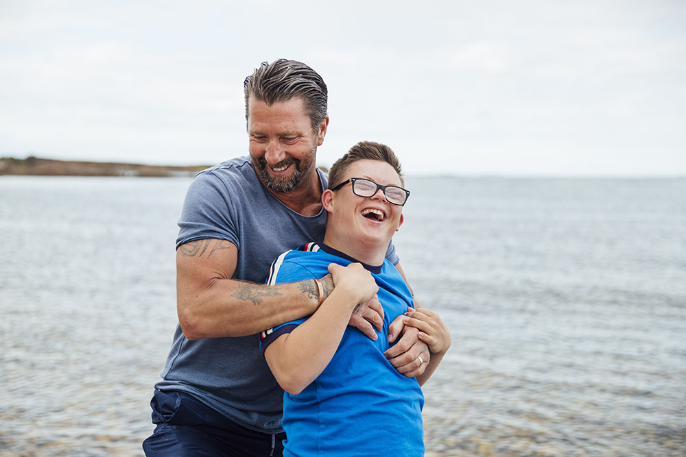 For the dads who do it all for their children with disabilities
